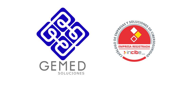 GEMED Soluciones forma parte del catálogo del INCIBE