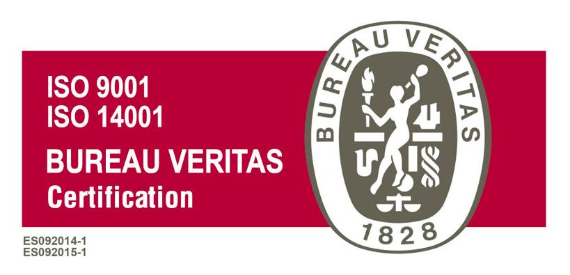 Nuevas certificaciones en calidad y medioambiente