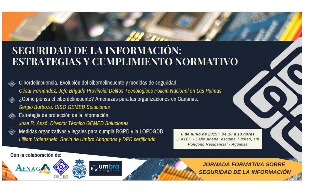 3ª edición. Seminario sobre Seguridad de la Información en Gran Canaria